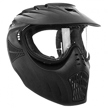 Kee Action Sports Empire Paintball X-Ray Single Lens Goggle, Black Mask