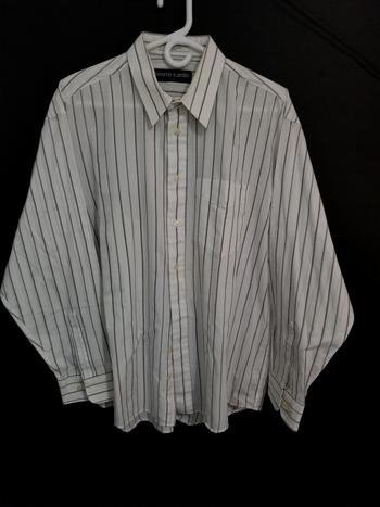 Pierre Cardin Paris Mens Sz XL Button Up Long Sleeve Shirt