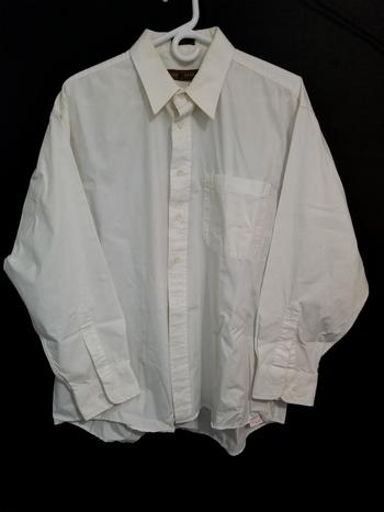 John Henry Mens Sz XL Button Up Long Sleeve Shirt