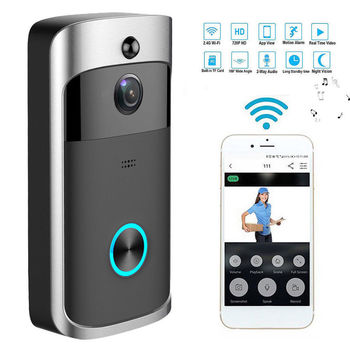 WIFI Wireless Doorbell Security Camera-Motion Detection