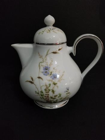 Antique Noritake Ireland Fine Bone China Tea Kettle
