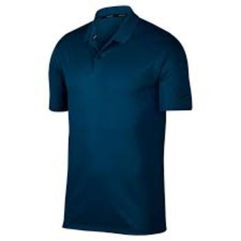 Mens Nike Golf Shirt Dark Blue Size S