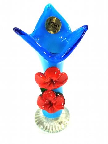 Art Deco Bohemia Glass Vase