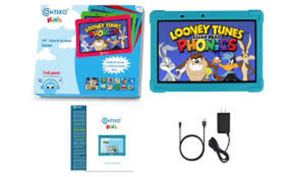 """Contixo K101 16GB 10"""" Kids' Tablet with Android, Parental Control"""