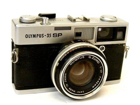 1969  Olympus 35 SP Camera