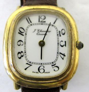 Vintage Women's J. Chevalier Quartz Watch