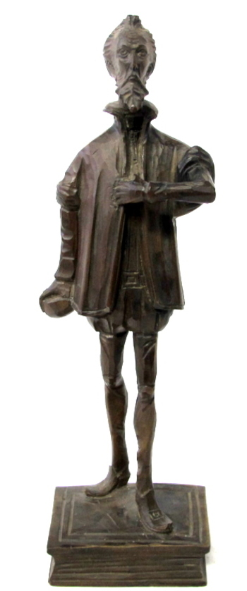 Vintage Wood Carving of Shakespeare The Bard of Avon