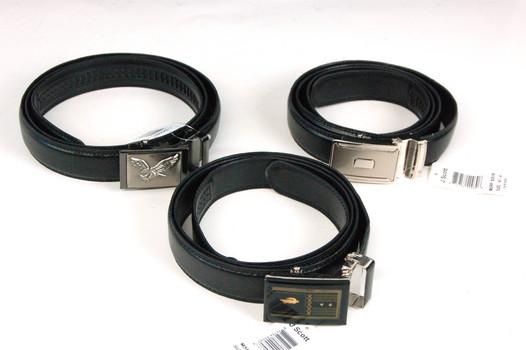 Belts - 3 Men's & Women's Fashion Belts - NEW - Size XL - Combined Retail $89.97