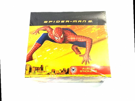 1 Box Spiderman 2 2004 Movie Panini Stickers for Album 48 Pack