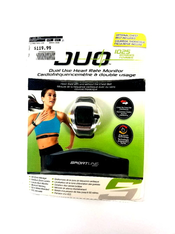 Sportline 1025 Duo Heart Rate Monitor for Women - NEW