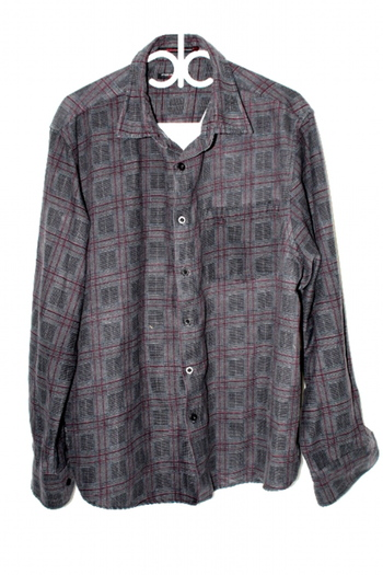 Point Zero Mens Sz XL Button Up Long Sleeve Shirt Pre Owned