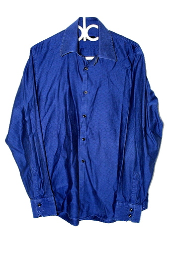 Hugo Boss Mens Sz L Button Up Long Sleeve Shirt Pre Owned