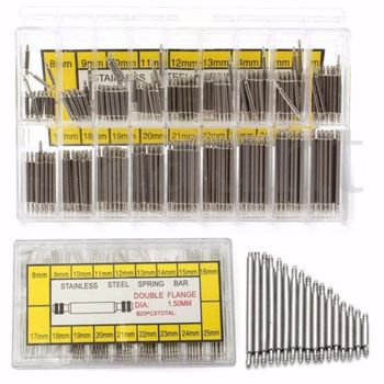 360 pcs Stainless Steel Watch Band Springs