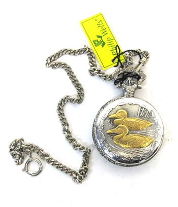 Men's Philip Wells Quartz Pocket Watch