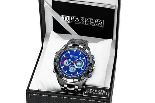 Barkers of Kensington Mega Sport Watch Retail $750.00