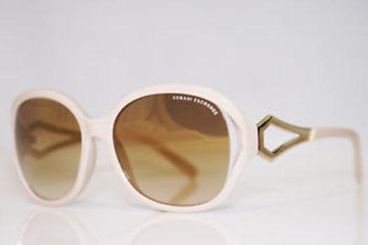 ARMANI EXCHANGE Womens Designer Beige Sunglasses AX