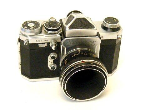 Edixa-Mat Reflex Camera & Makro Kilard Lens