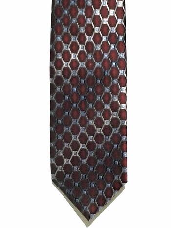NWT Mens Bagutta Bentley Hand Made 100% Silk Tie