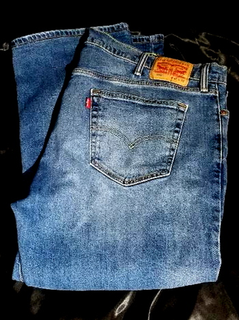 LEVIS 559 Light Denim RED TAB Jeans 42 x 32 Straight Fit