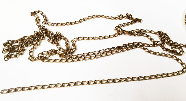 BRASS CHAIN-10MM X 5MM BRASS CURB CHAIN-10FT.