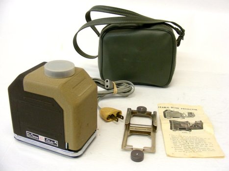 Crown Portable Slide Projector