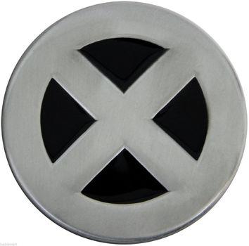 X-Men Logo Metal Belt Buckle