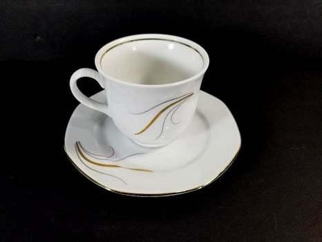 VTG Bavaria German Wunsidel Fine Bone China Cup & Saucer