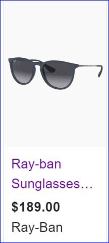 Ray Ban New Sunglasses 3539