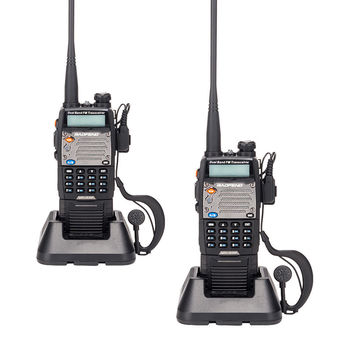 NEW 2 PcBaofeng VHF/UFH Dual-band Two Way Radio