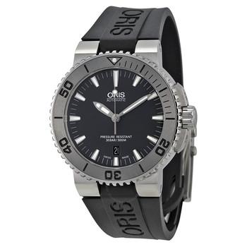 Oris Aquis Automatic Date Grey Dial Men's Watch