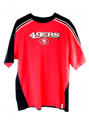 Reebock San Francisco 49ers NFL Reebok Large Mens T-Shirt