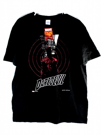 NWT Official Marvel Daredevil Mens T-Shirt L