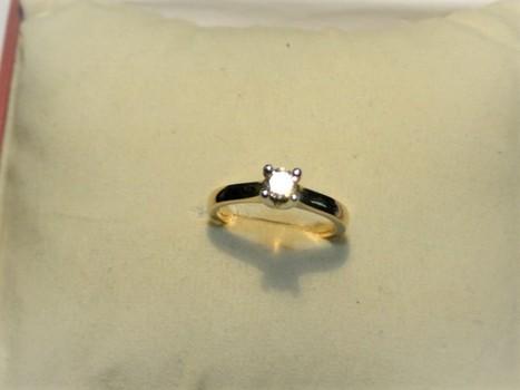 14 Kt Gold .50 Carat Diamond Ring