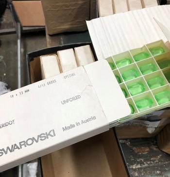 SWAROVSKI Crystals 1970's Austria 192 Pieces