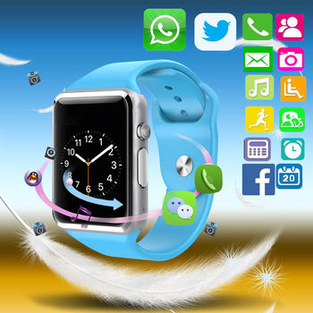 BLUE Smart Watch for Android / IOS