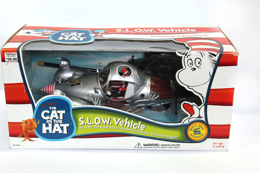 CAT IN THE HAT - RADIO CONTROLED S.L.O.W. VEHICLE