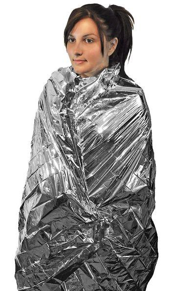 4 Pack Emergency Blanket Thermal Camping