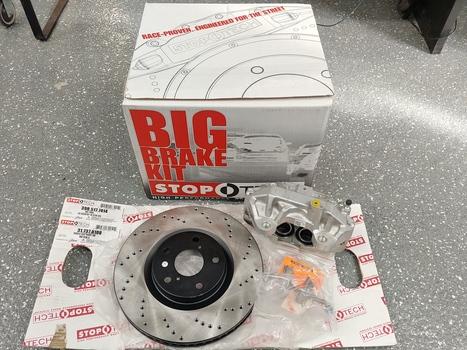 Stop-O-Tech Trophy Big Brake Kit, Model: 83.857.6700.R3