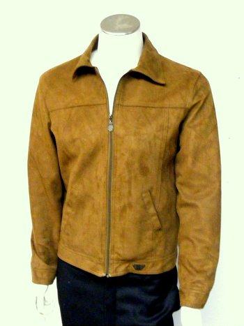 Men's Italian Suede Jacket  M