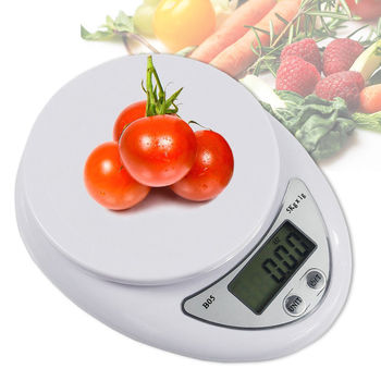 New Digital Kitchen Food Cooking Scale Weigh in Pounds, Grams, Ounces, and KG - New