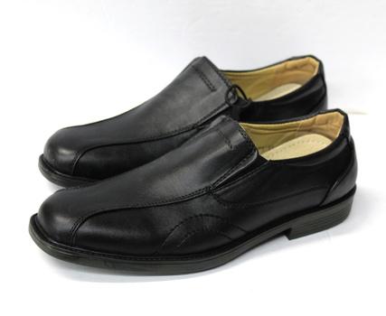 Men's Leather Shoes - Black - Size 10 - $69.99 Retail