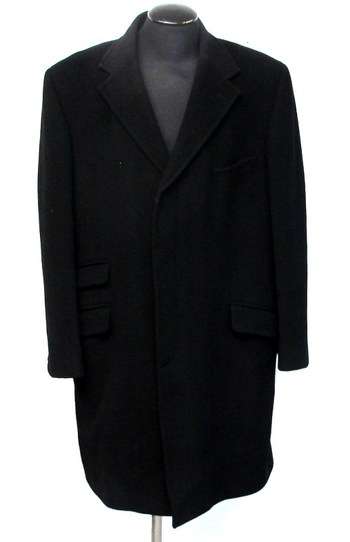 Calvin Klein Men's Wool and Cashmere Peacoat- Size 44 R