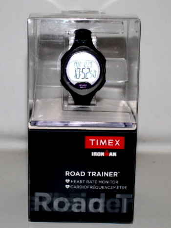 Timex Ironman Road Trainer Heart Rate Monitor Purple Black - New