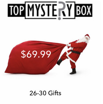 Christmas gift jewelry and stocking stuffer 26-30 Gifts Estimated Retail Value $420-550 Box # 1