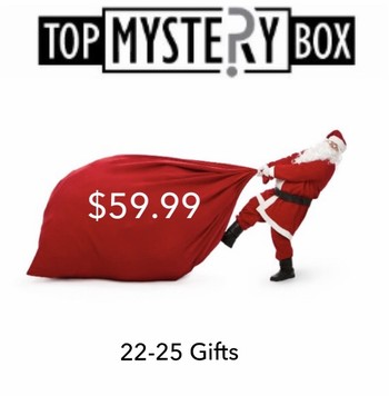 Christmas gift jewelry and stocking stuffer 22-25 Gifts Estimated Retail Value $450-$500 Box # 4
