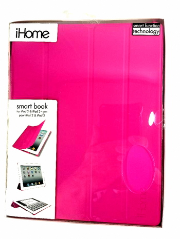 iHome Smart Book for iPad 2 and 3 Gen - Pink