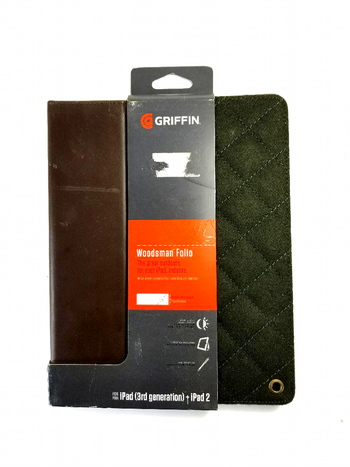 Griffin Woodsmans Folio For iPad 3rd Generation + iPad 2