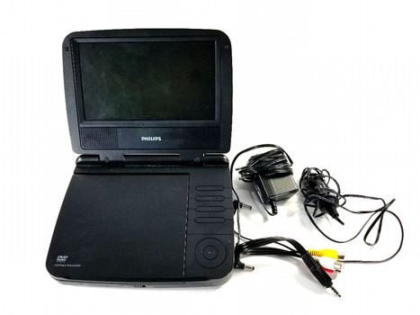 "Philips PET733 7"" Portable Widescreen DVD Player USED"