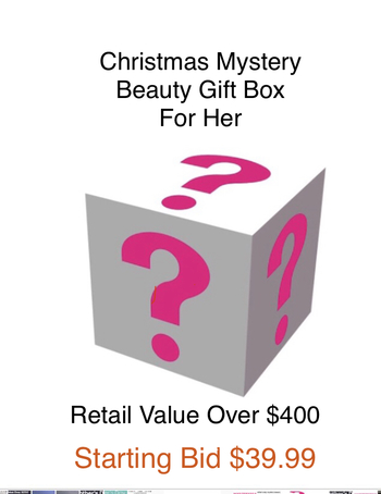 CHRISTMAS MYSTERY BEAUTY BOX , RETAIL VALUE RETAIL: OVER $400 BOX # 7