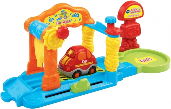 VTech Go! Go! Smart Wheels Car Wash Playset